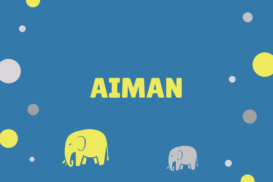 Maksud nama Aiman